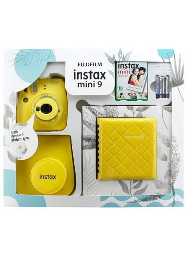 Fujifilm instax mini 9 Kit Sarı Sarı